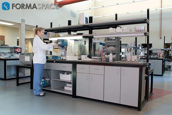 Modular Lab Instrument Bench
