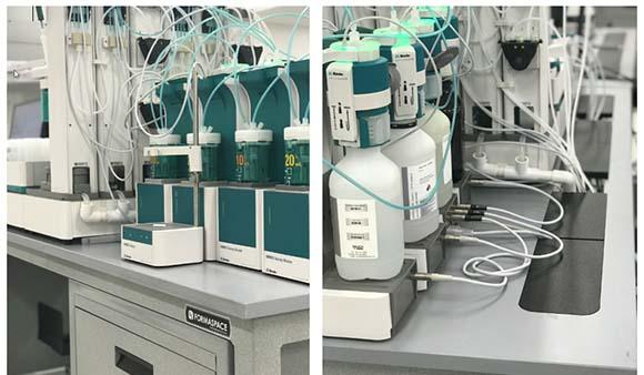 Metrohm lab installation in Florida.