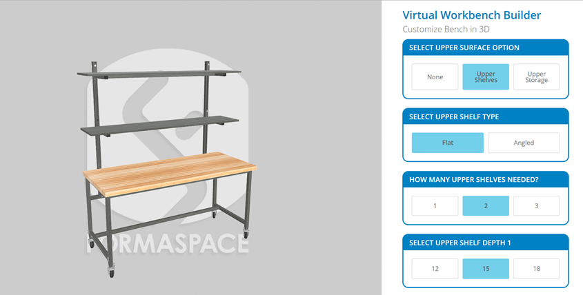 virtual workbench builder
