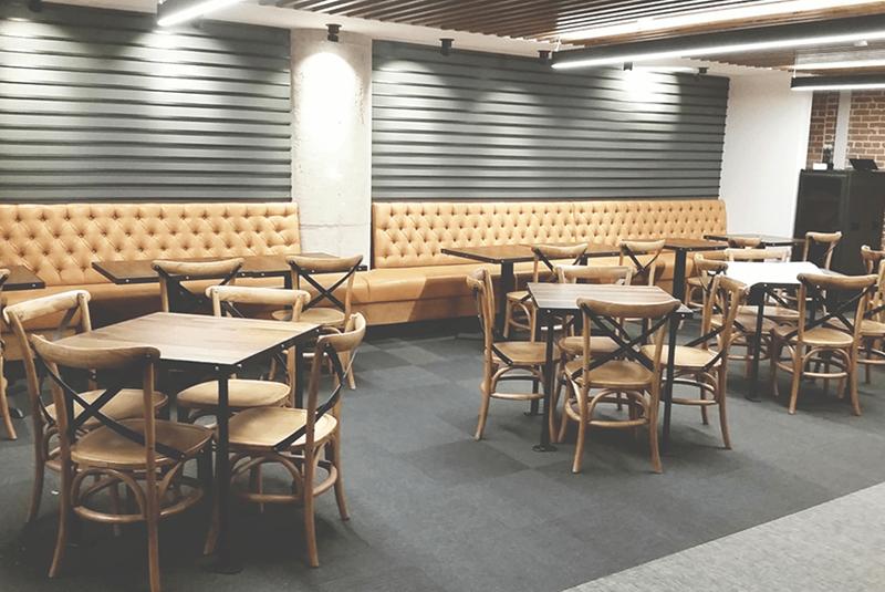 office cafeteria lounge area