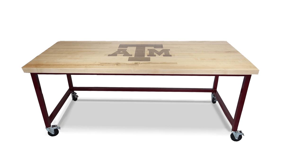 custom logo maple desk