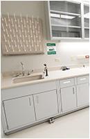 lab casework sink mosaic image