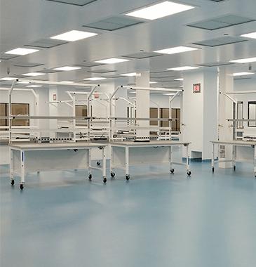Cleanroom Work Space