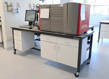 sample processing double bracket workbench