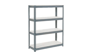 gray tool bench rack system