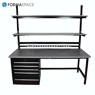benchmarx with large tool bench drawers