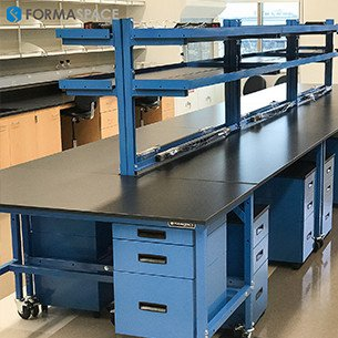 blue lab workbenches