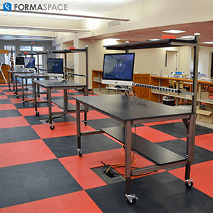 custom height adjustable workbench