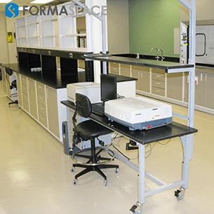 workbench and casework installation