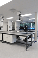healthcare sample processing furniture