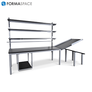 conveyor integrated material handling workstation gallery