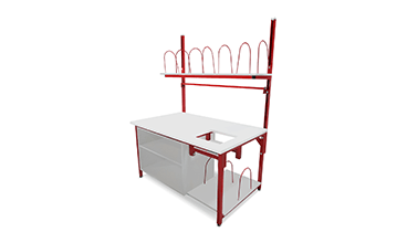 material handling workbench accessories