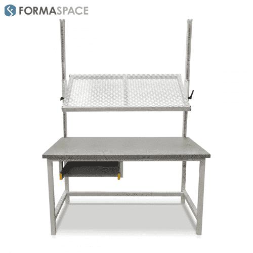 custom adjustable angle shelf