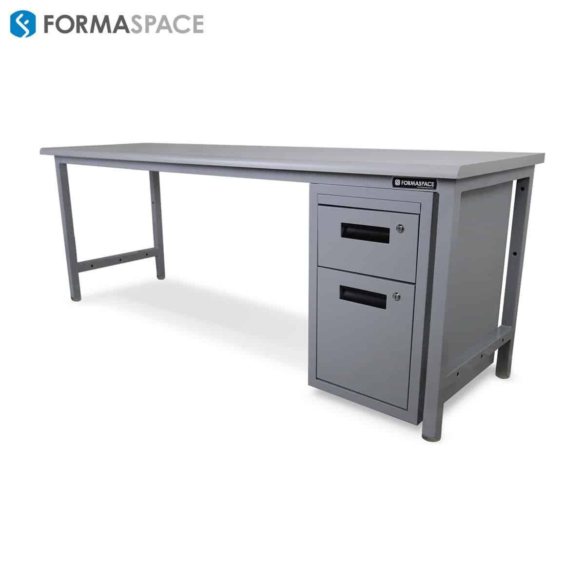 basix workbench locking drawers