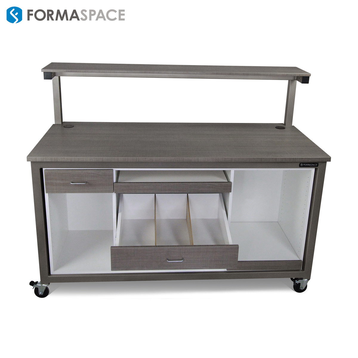 workbench with custom storage
