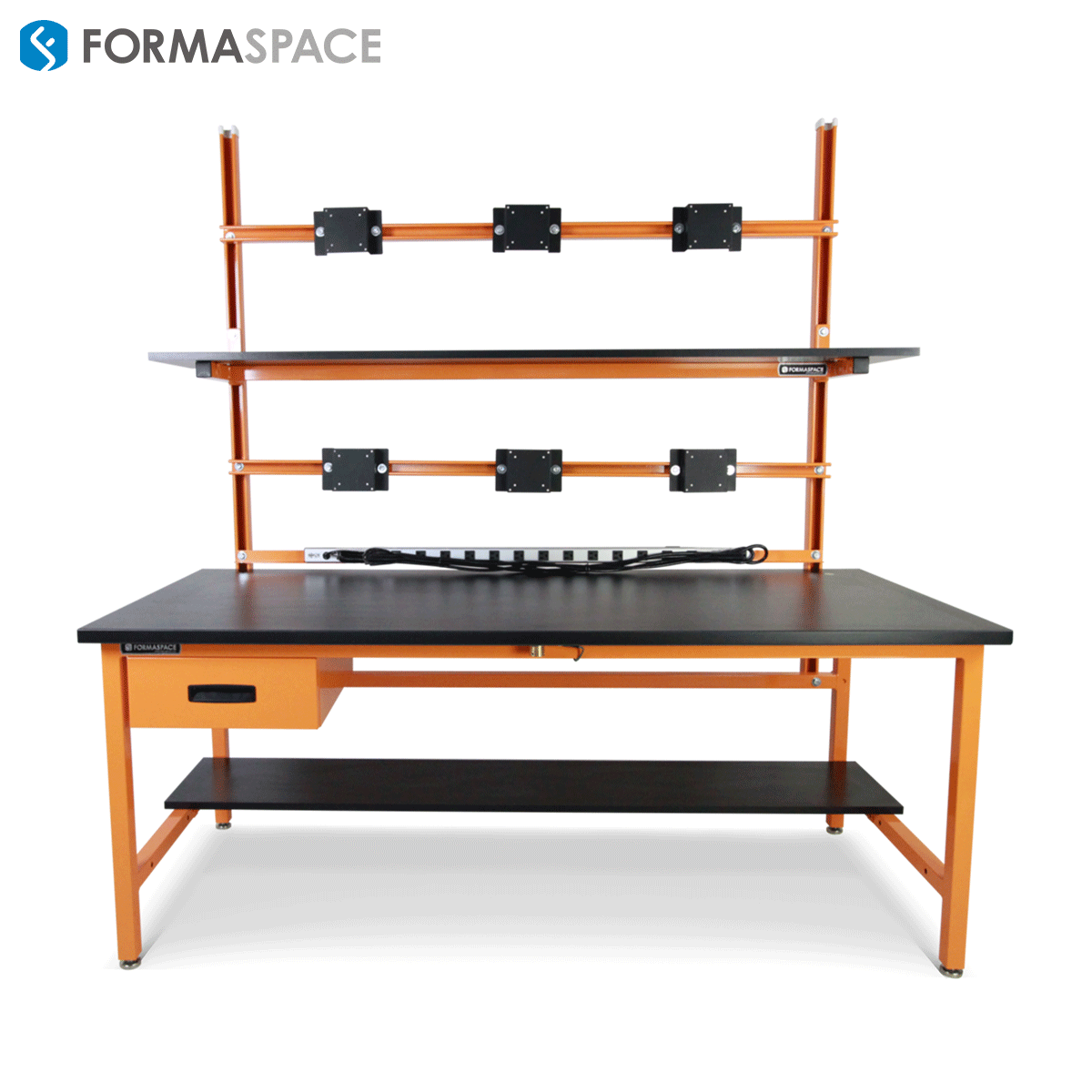 orange ESD workbench