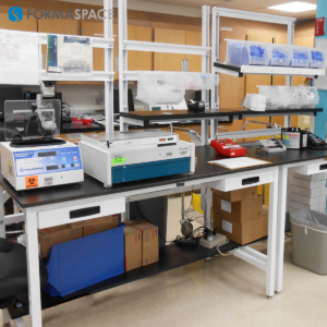 Hematology Laboratory Workbench in Florida Hospital