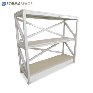 White Heavy Duty Shelving Unit