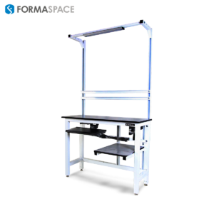 height adjustable phenolic workbench