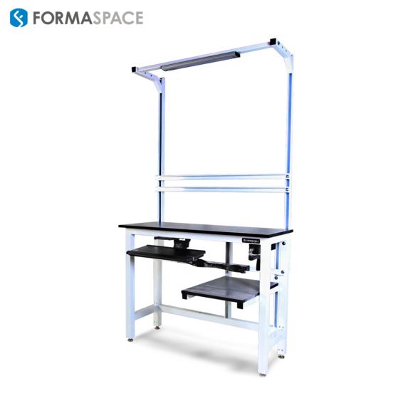 height adjustable phenolic workbench