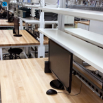 Individual Workbenches for Innovative IT Laboratory Students