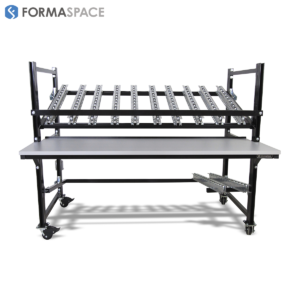 Heavy Duty Flow Rack on Casters