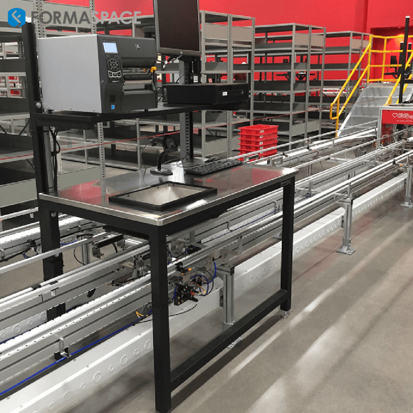 material handling workbench integration