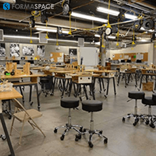makerspace science center furniture