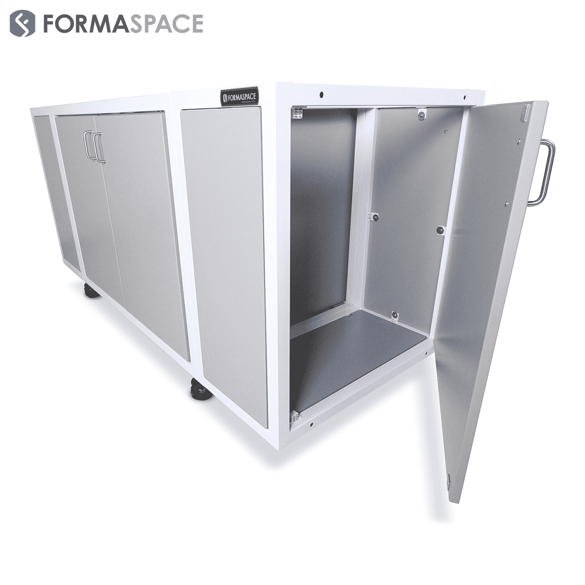 single-door detachable side cabinets