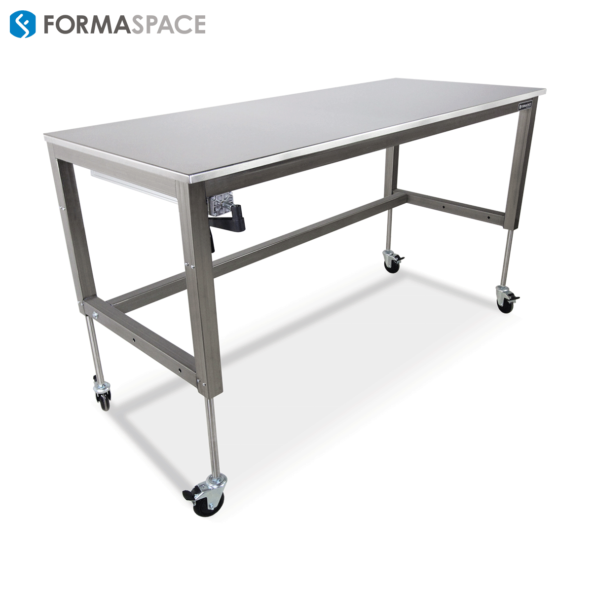 basix lab workbench stainless steel