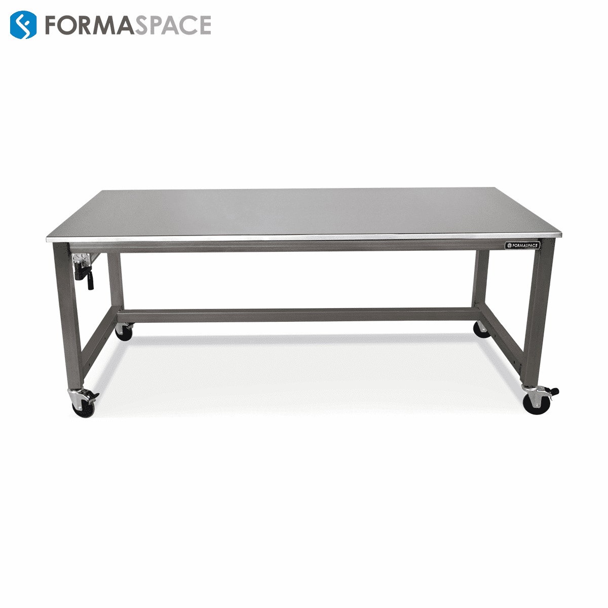 ss work surface welded steel frame