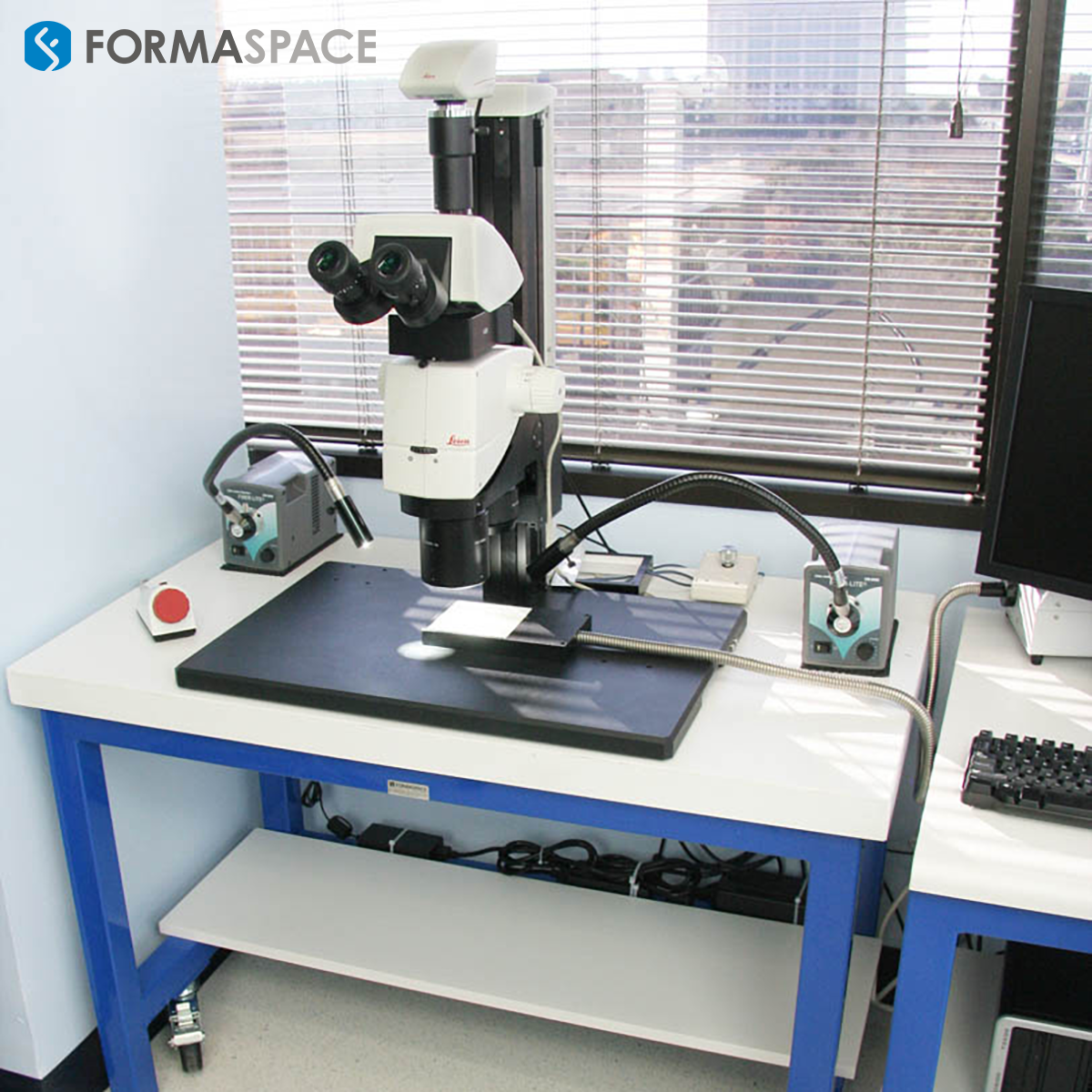 standard microscope table by formaspace