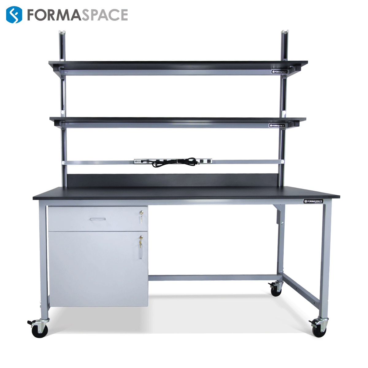 height adjustable lab bench
