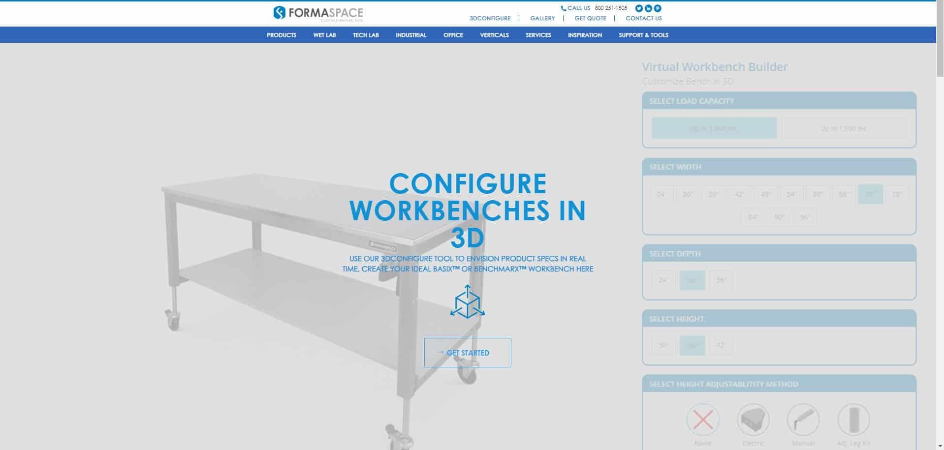 formaspace homepage
