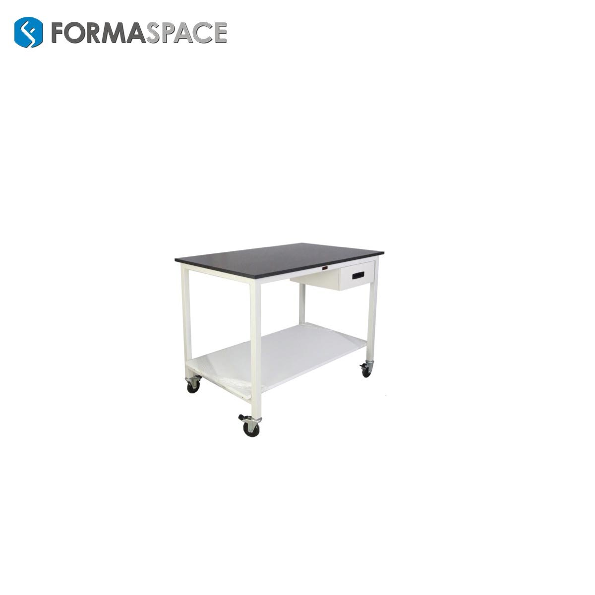 mobile cart with a drawer