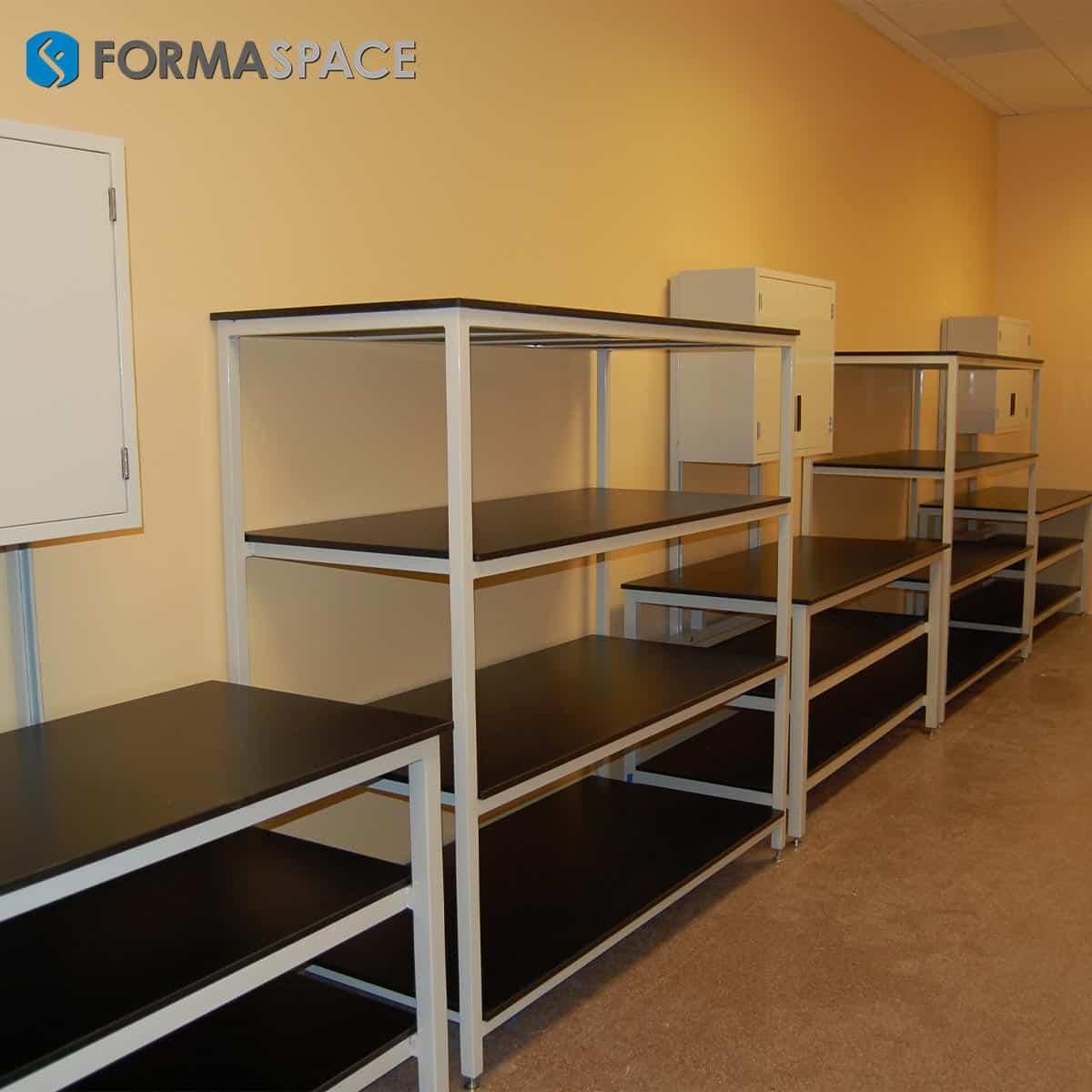 benchmarx and 4-shelf storage combo