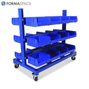 sapphire blue mobile rack
