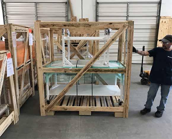 custom shipping crates