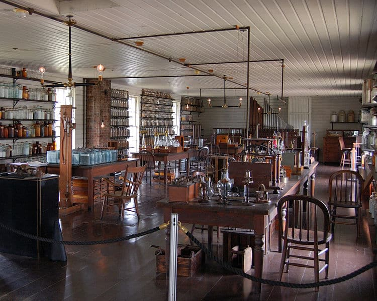 henry ford edison's menlo park laboratory