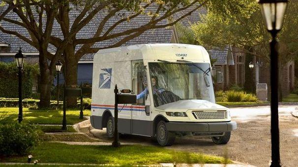 usps postal delivery trucks