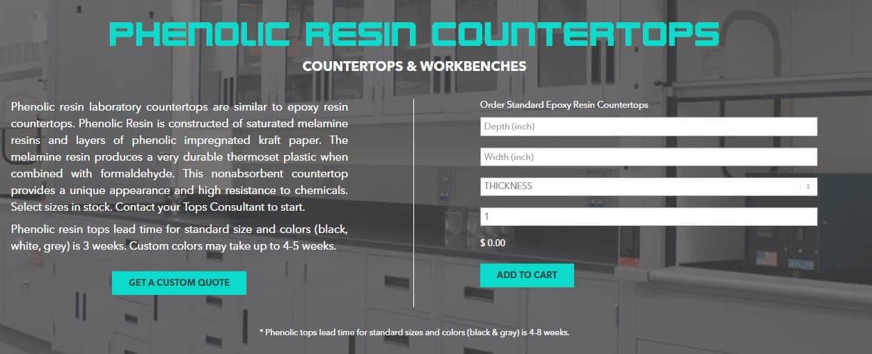 phenolic resin countertops epoxytops