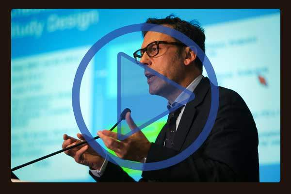 Professor Luis Paz-Ares, MD, PhD, Hospital Universitario 12 de Octubre, Madrid, Spain presents findings that that PD-1 immunotherapy is an effective treatment option for patients with non-squamous, non-small cell lung cancer (NSCLC) in a randomized Phase III Study.