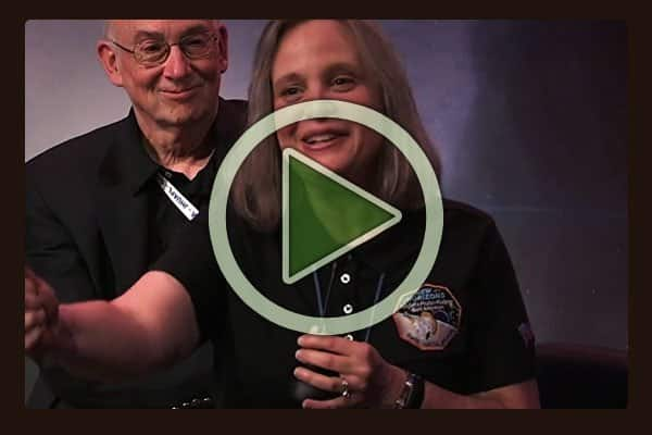 <br />Alice Bowman, New Horizons space probe mission operations manager, expresses her excitement and wonder at the success of the mission and tells all of us to follow our dreams.