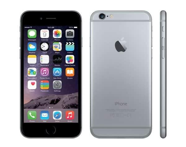 Apple iPhone 6, courtesy of Apple, Inc.