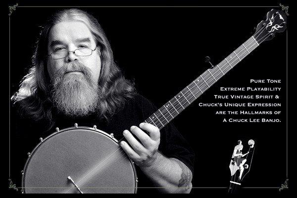 Chuck Lee creates handcrafted Banjos in Ovilla, Texas (chuckleebanjos.com)