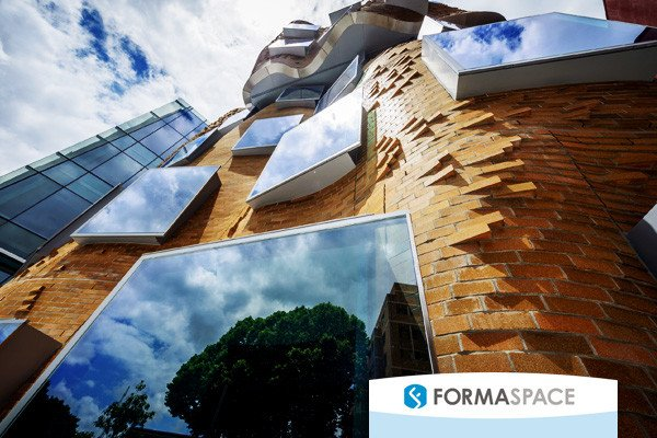 Frank Gehry's new Dr Chau Chak Building at UTS Business School in Sydney, Australia