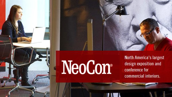 With attendance north of 50,000 people and typically more than 1000 exhibitors participating, Neocon is by far the largest trade show for contract furniture and commercial furnishings held in the USA.