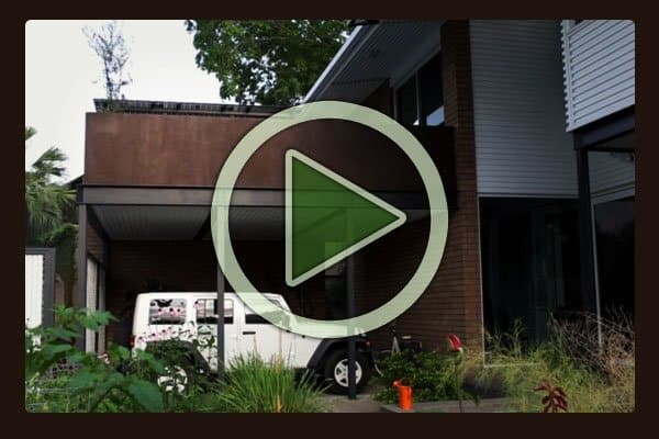 Take a video tour inside and out of Karen Lantz's masterpiece sustainable residence in the Museum District of Houston, Texas.