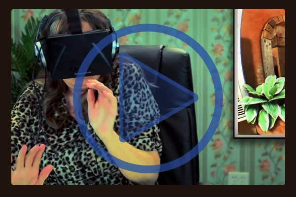 Facebook made waves by purchasing the Oculus Rift virtual reality technology for $2 billion. Here's a tongue-in-cheek video showing Facebook's growing demographic (over 50-somethings) trying out Oculus virtual reality headsets for the first time.