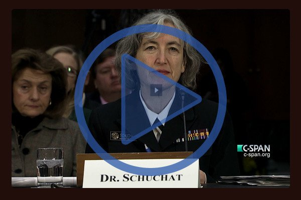 Rear Admiral Anne Schuchat, MD, Director, National Center for Immunization and Respiratory Diseases at CDC, testified to a Senate Hearing on Vaccine-Preventable Disease held last week in Washington, DC.
